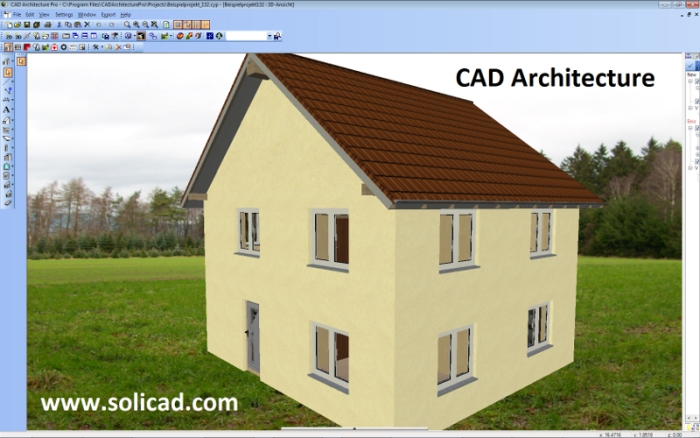 CAD Architecture   Designing Office SoliCAD, Ltd   Machine, Energetics, Car  Industry